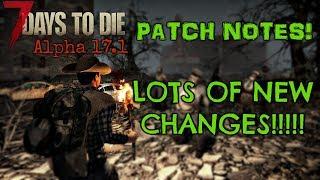Скачать 7 Days To Die Alpha 17 17 1 Patch Notes