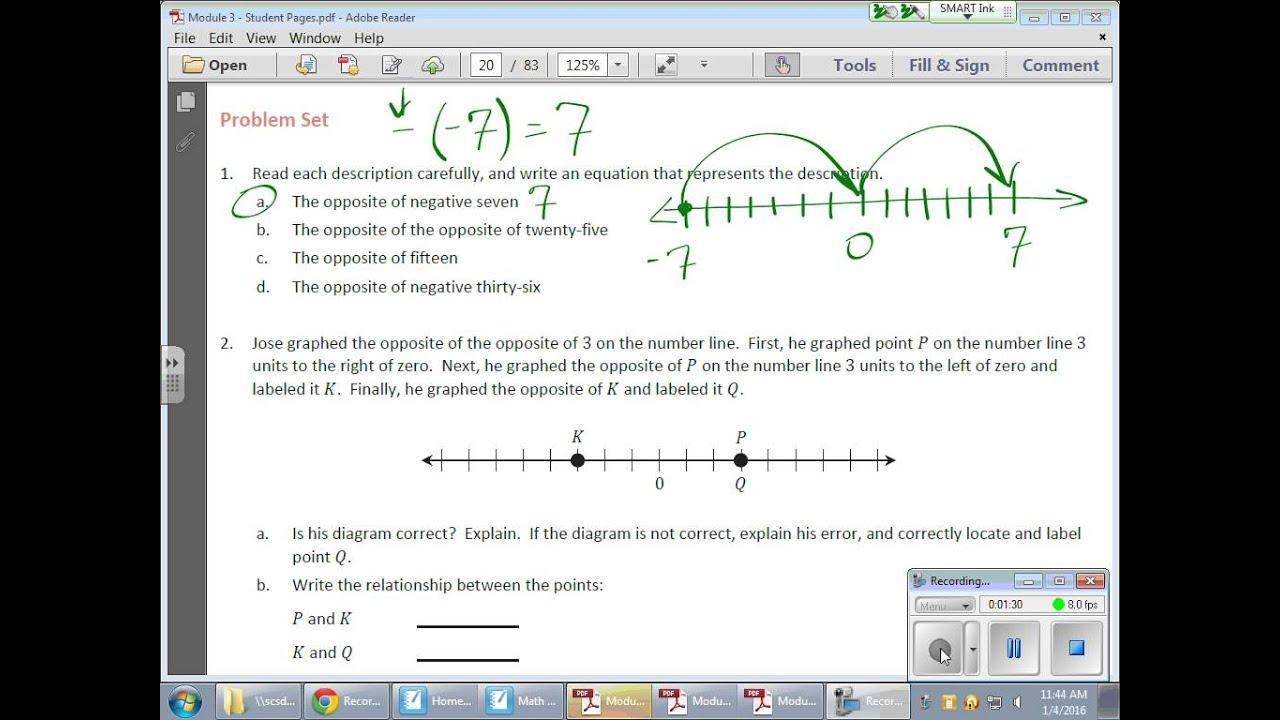 Grade 6 module 4 lesson 30