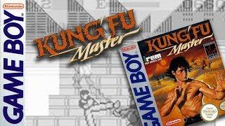 KUNG FU MASTER  - Game Boy GB playthrough HARD difficulty [Gameboy] スパルタン X