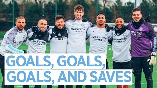 WONDER STRIKES, SUPER SAVES, FLASHY SKILLS | MAN CITY TRAINING