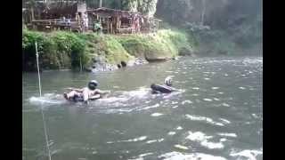xplorer riders club south goes to bunga falls, nagcarlan, laguna.