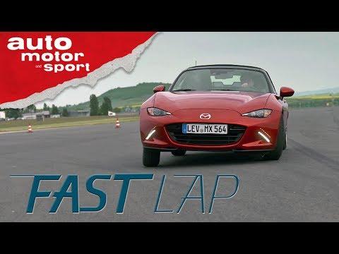 Mazda MX5: Spaß mit 160 PS - Fast Lap | auto motor und sport