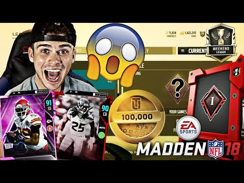 WE FINISHED TOP 20 IN THE WORLD IN MADDEN 18 WEEKEND LEAGUE?! | MADDEN 18 ULTIMATE TEAM