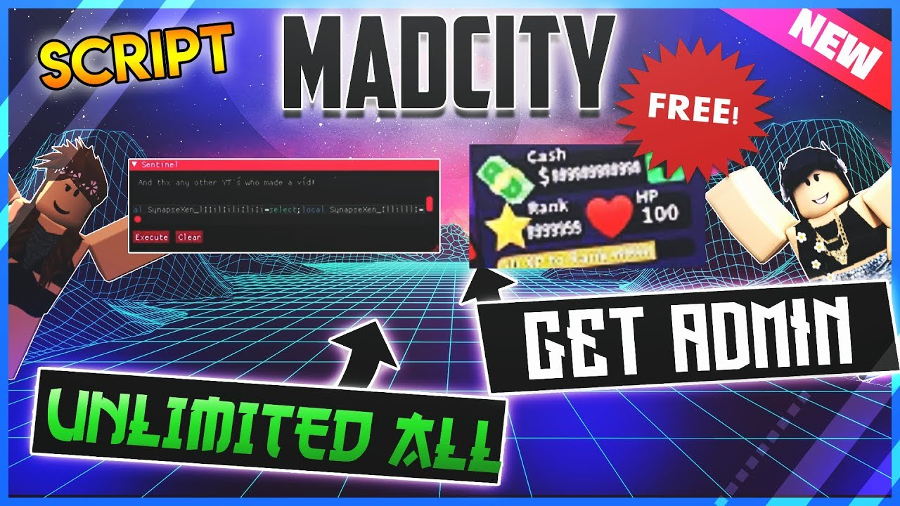Mad City Unlimited Money Hack Roblox 2262019 Hacks Script Hack Madcity Unlimited Money Max Rank Unlock Everything Free Fast And Easy Youtube