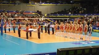 グラチャンバレー2013女子 アメリカ(USA)-ロシア(RUS) 選手入場・国歌 平成25年11月15日