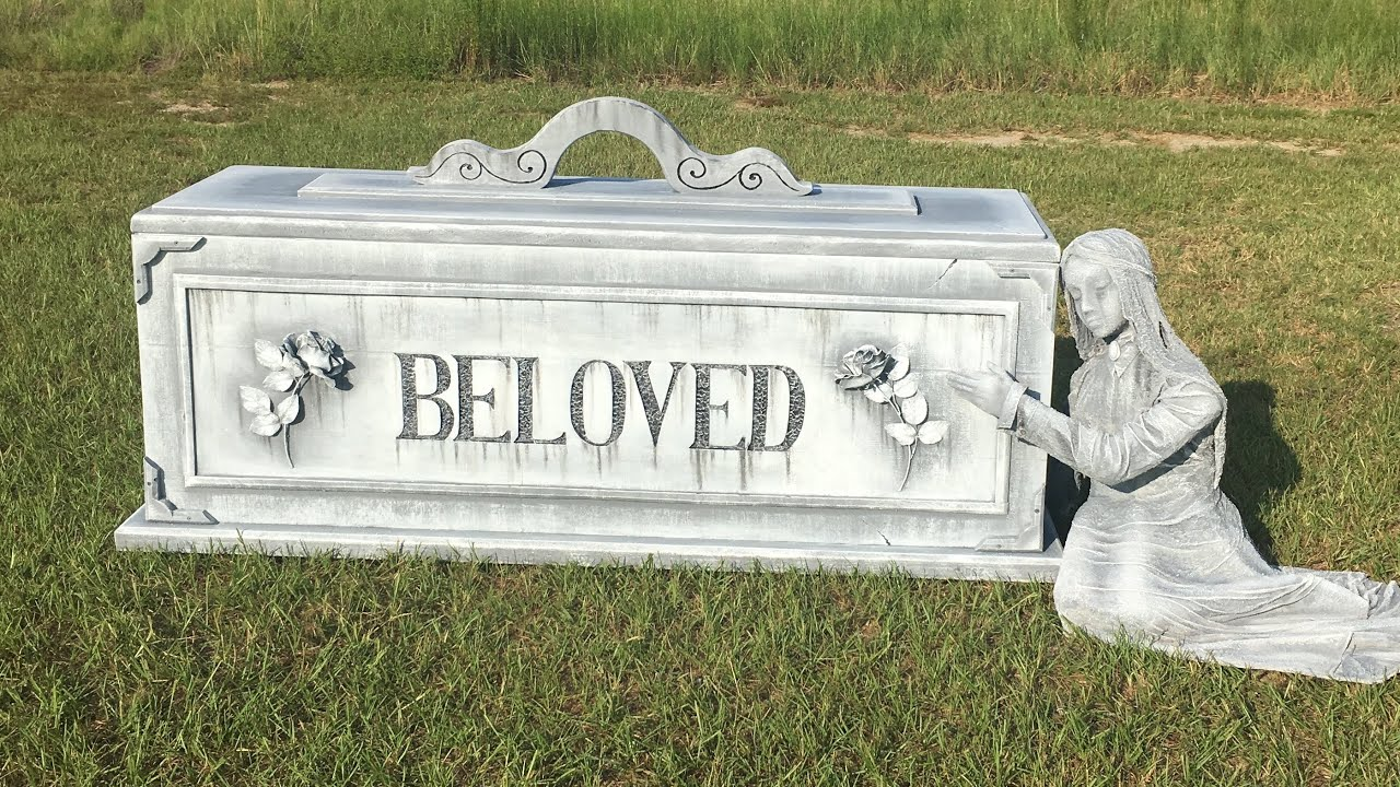 how to make a beloved tombstone animated halloween prop - How To Make Animated Halloween Props