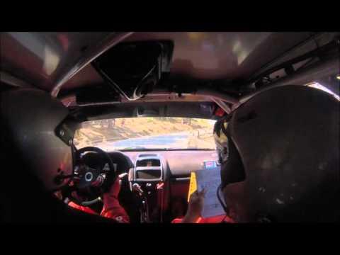 Onboard J.L. Muñoz- E. Ortiz. Renault Clio Sport - Rally de la Vendimia 2015. TC5 Tentudia