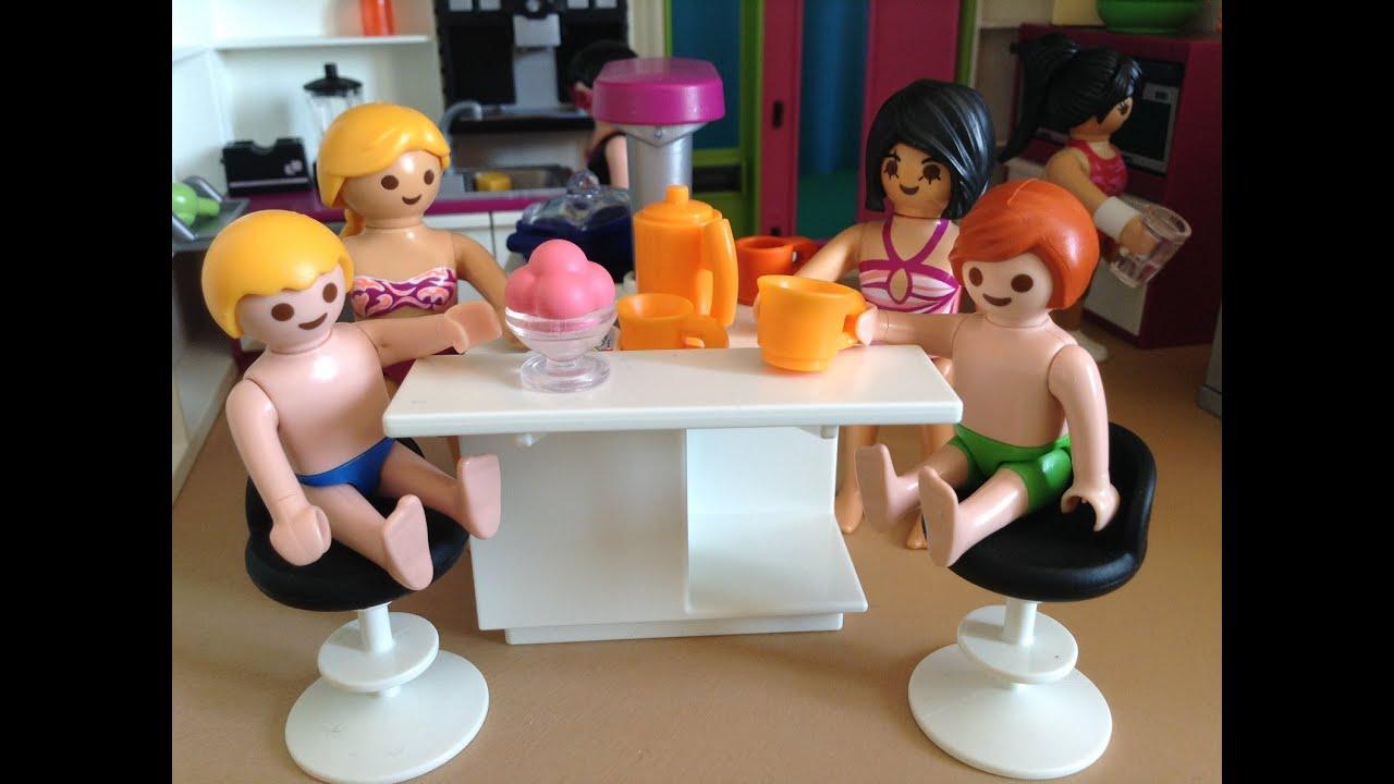 Playmobil piscine SUMMER FUN Maison Moderne 5574  YouTube