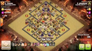 Clash Of Clans - glenpogi with the 3 star attack ⭐️⭐️⭐️ - Cavite 24/7^_^