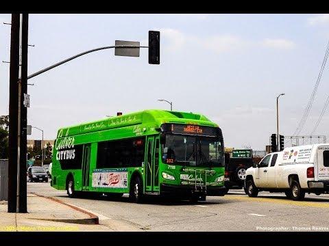 Culver City Citybus 2012 New Flyer XN40 Xcelsior #7122