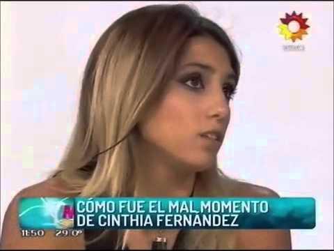 Cinthia Fernández se quebró al relatar el intento de abuso: No hubo penetración