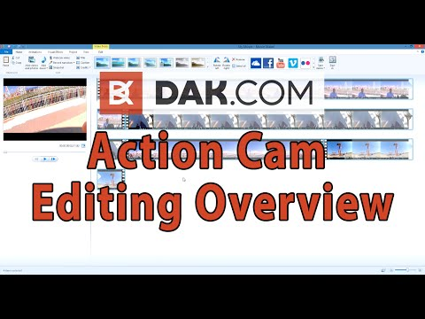 Which free program is the best for editing your Action Cam footage?