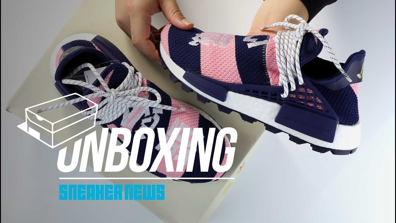82e48cf7709ae Pharrell NMD BBC Unboxing + Review - YouTube