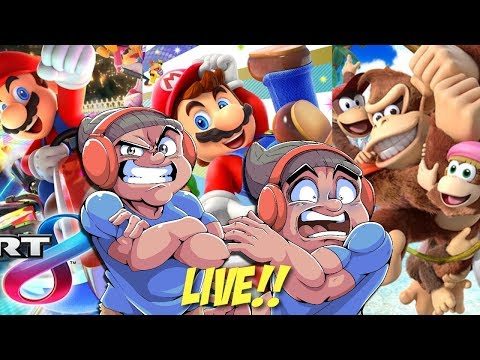 LET'S PLAY SOME NINTENDO SWITCH GAMES LIVE!!!