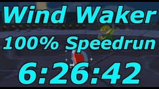 Zelda: Wind Waker 100% Speedrun in 6:26:42