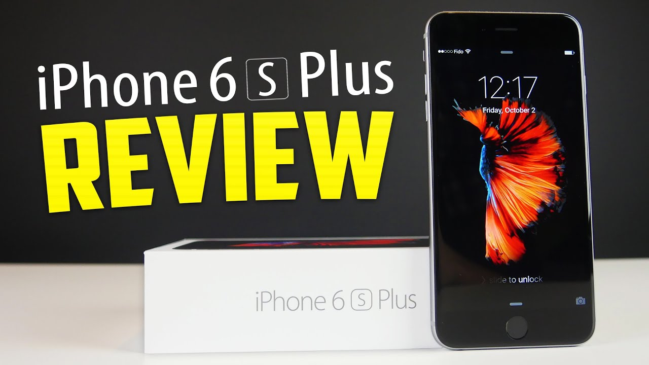 Iphone 6s Plus Review Apple 2015 128gb Space Grey