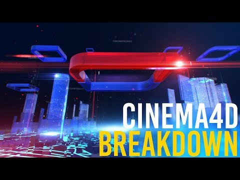 CInema4d   Broadcast Design tutorial   Opening Title Sequence thumbnail