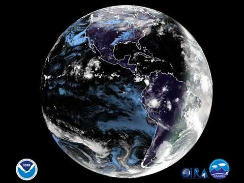 Earth from Space - Nov. 2nd Full Disk Satellite Imagery ...