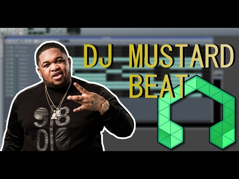 How to make a DJ MUSTARD Beat [All sounds included in LMMS]