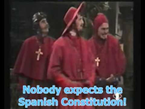 Nobody expects the Spanish Constitution! Democracy for Catalonia?