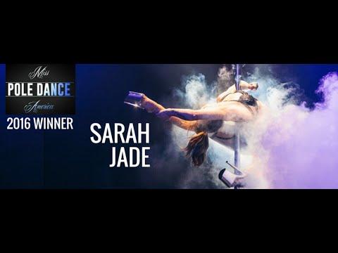 Miss Pole Dance America 2016 Champion Sarah Jade