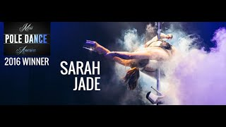 Miss Pole Dance America 2016 Champion Sarah Jade