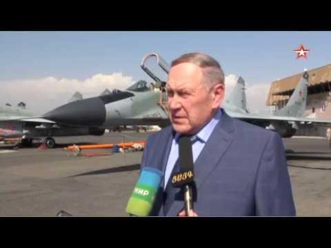 В небо Еревана были замечены новые истребители МиГ 29