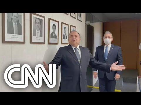 Pazuello diz que sua saída foi resultado de 'ação orquestrada'; assista   CNN PRIME TIME