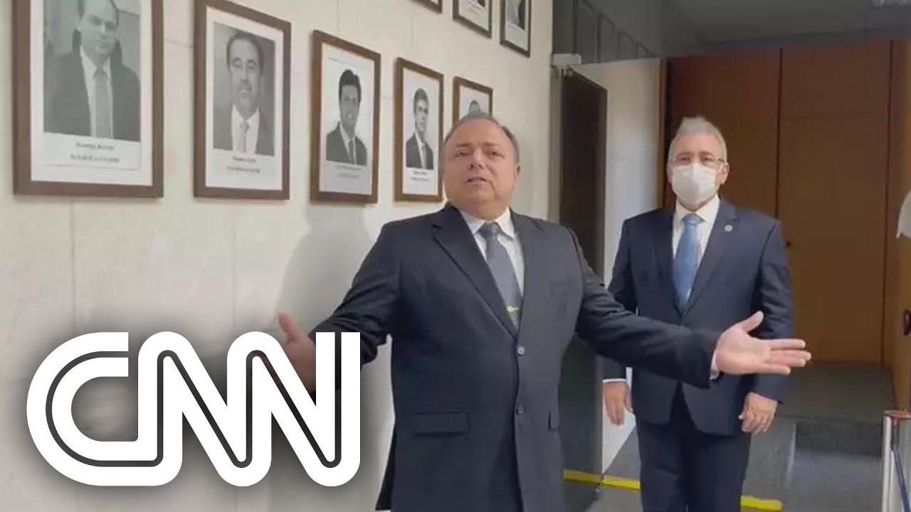 Pazuello diz que sua saída foi resultado de 'ação orquestrada'; assista | CNN PRIME TIME - YouTube