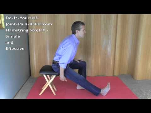 Hamstring stretch simple and effective youtube hamstring stretch simple and effective solutioingenieria Choice Image