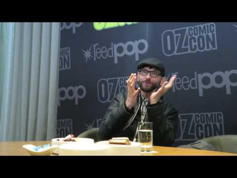 DJ Qualls talks The Man In The High Castle  Pt 1  Oz Comic Con Melbourne 2017