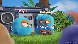 Download TWICE Maknae line ft Jline as Angry Birds
