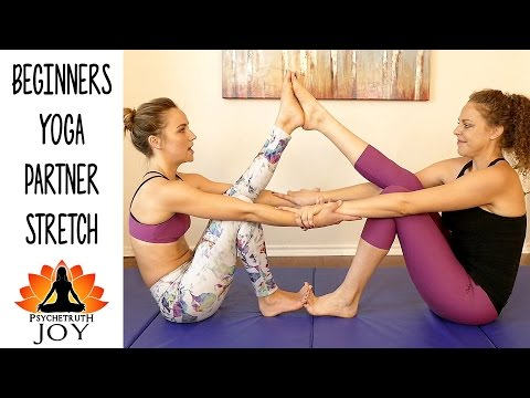 Joy Yoga #17 Beginners Partner Stretches For Pain Relief