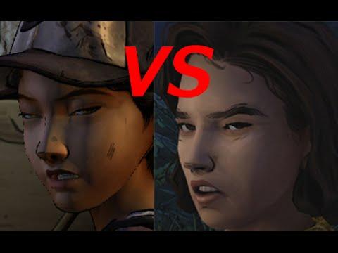 The Walking Dead Season 2 Spoilers Clementine Vs Becca