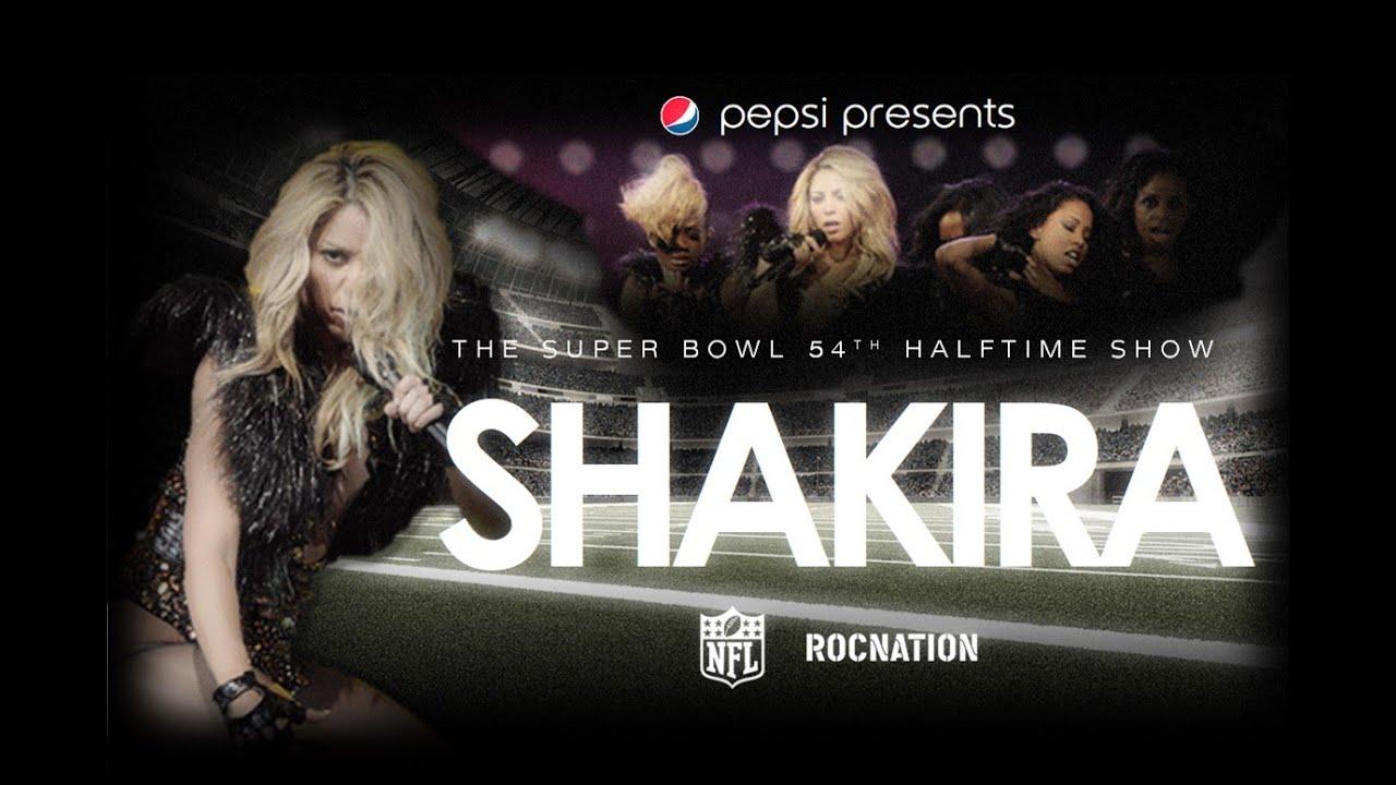 Shakira - Super Bowl LIV Halftime Show  2020