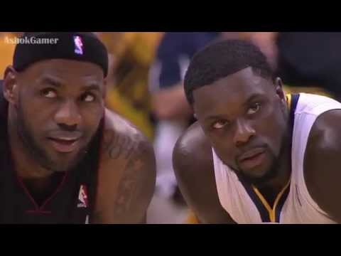 Lance Stephenson Blows in the Ear of LeBron James