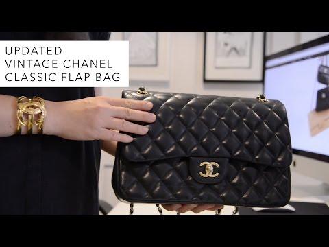 Updated Vintage Chanel Classic Flap Bag 01c3b41c93