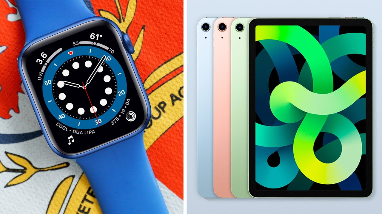 NEW Apple Watch 6, iPad Air 4, Watch SE is Here!