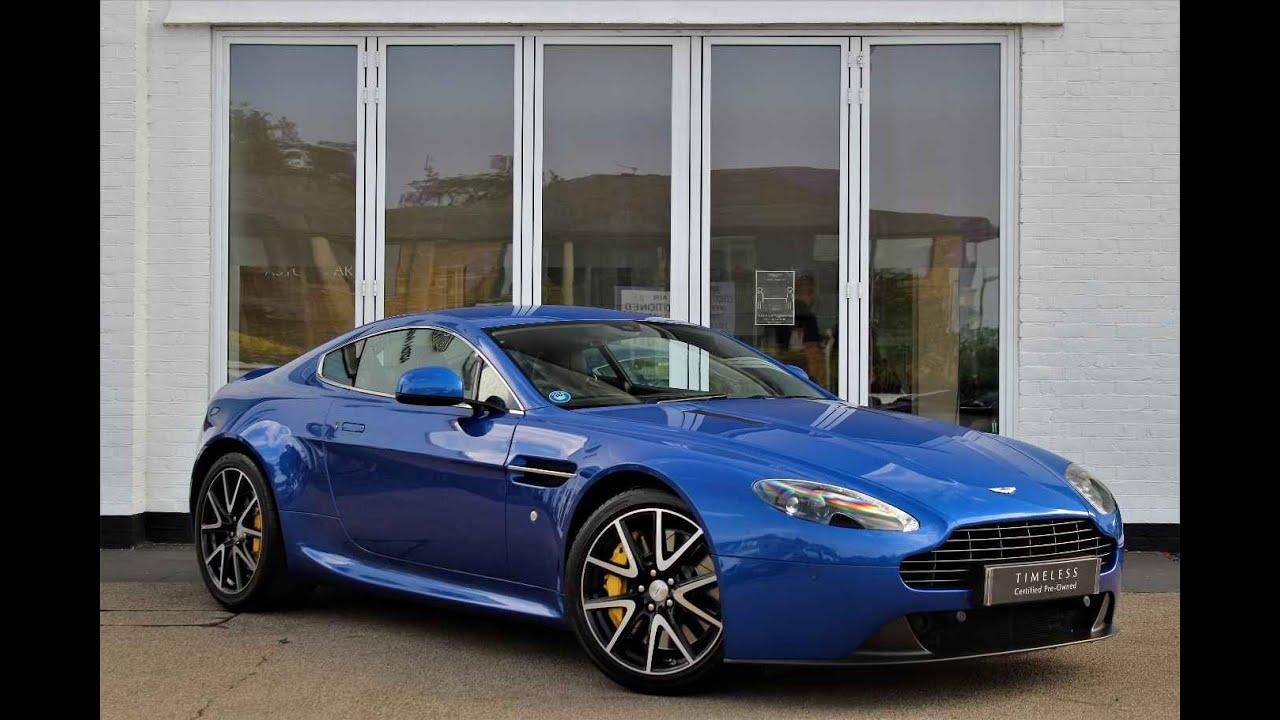 Aston Martin V8 Vantage Cobalt Blue Hwm Aston Martin Youtube