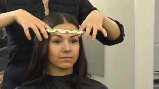 як зробити зачіска в грецькому стилі відео самої