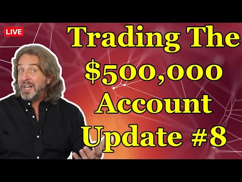 Trading Options For A Living – $500,000 Trading Account Update #8 (Episode 161)