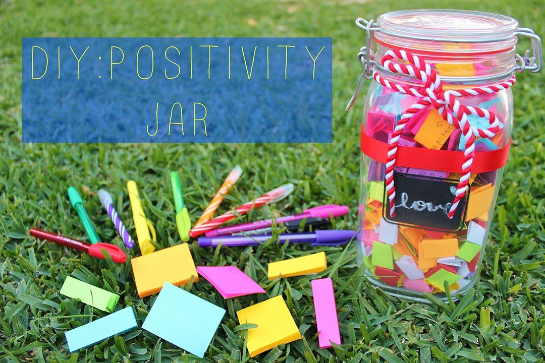 Diy Positivity Jar Youtube