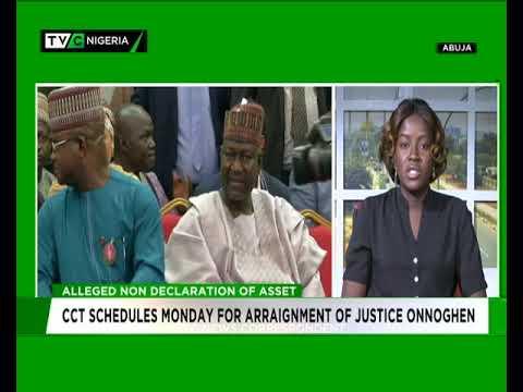 TVC News Correspondent speaks on plan to arraign CJN Onnoghen