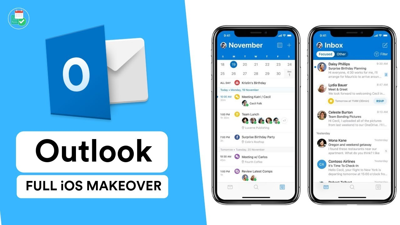 Quick News: Outlook for iOS new look