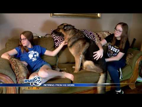Police Dog Retires