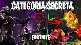 FORTNITE-FREE SECRET CATEGORY OF THE WEEK 4 BATTLE PASS!