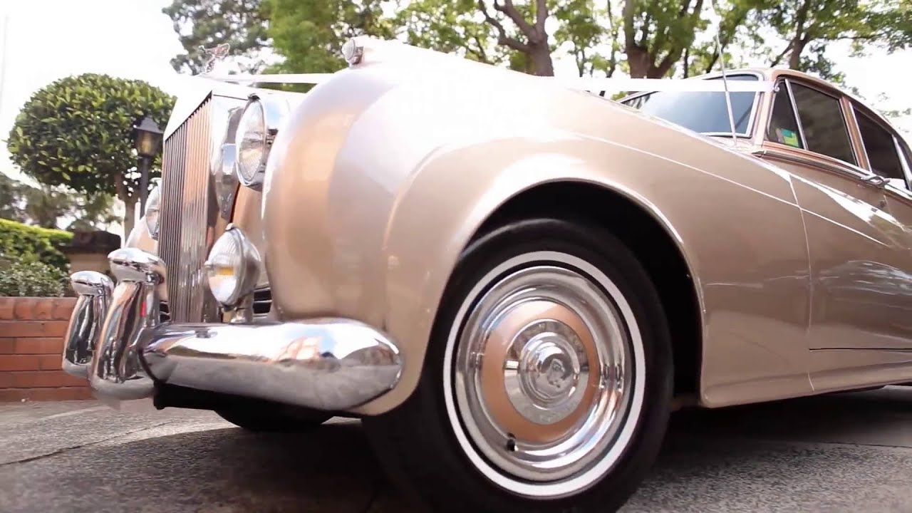 Wedding Car Hire Sydney - Classic Cars - Bentley - Rolls Royce - YouTube