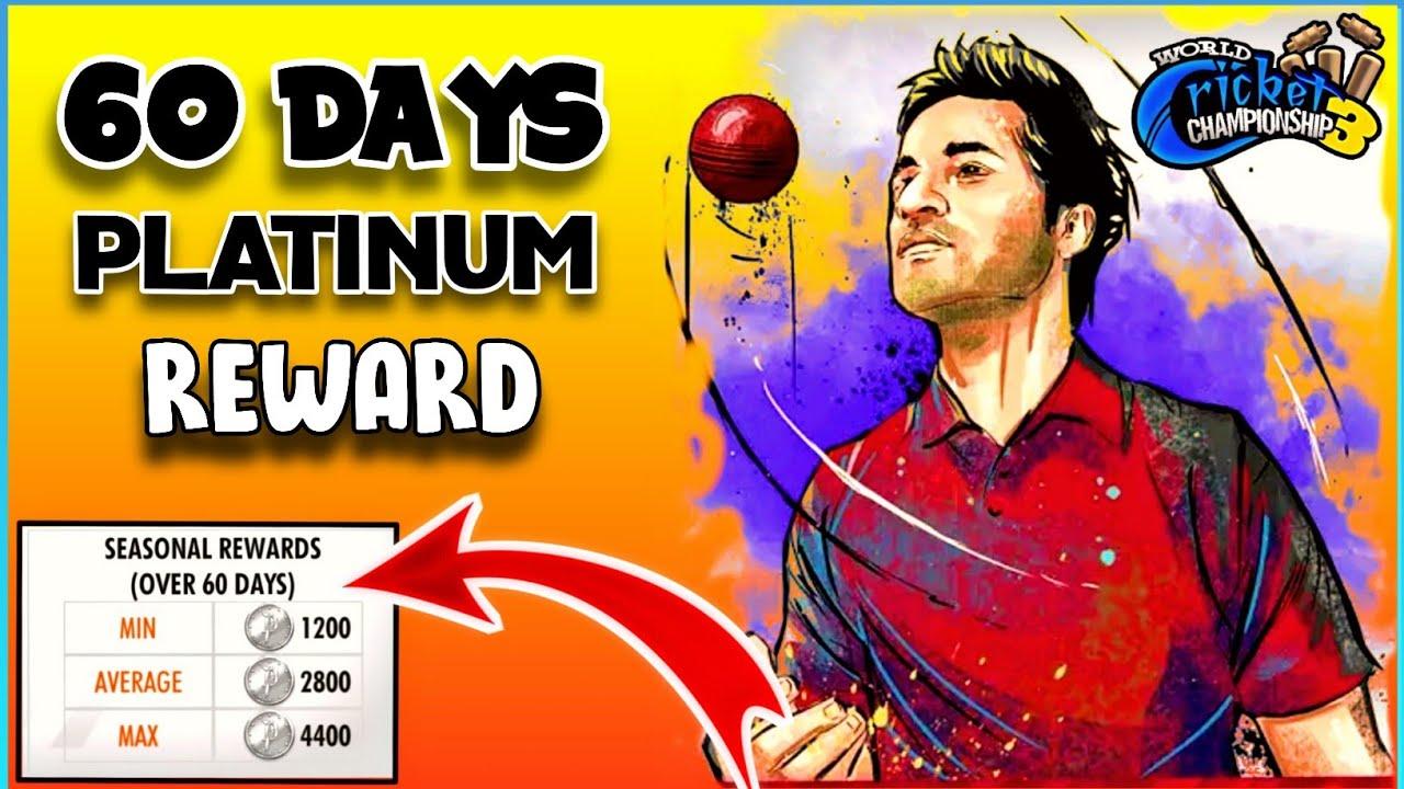 🔥 WCC3 How To Get 60 Days Platinum Coins Reward ! Full Explain !!