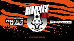 Rampage Radio - Live from PENDULUM STUDIOS
