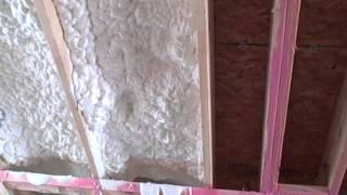 NorthPointe - Frederick, MD - Spray Foam Insulation Application - April 2011